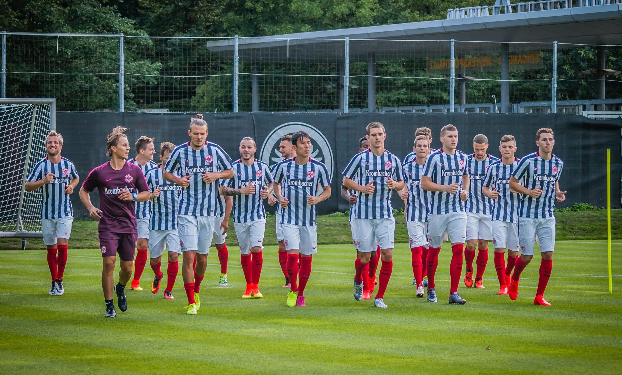 Eintracht Frankfurt Trainingsauftakt @WWW.highlanderTV.eu
